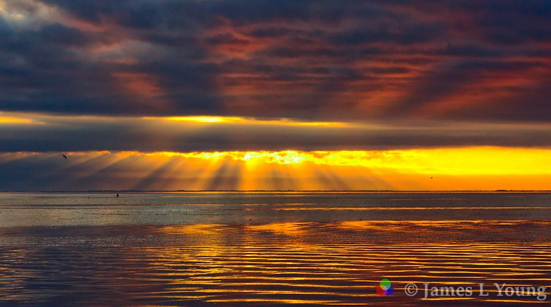 Beautiful Winter Sunsets James Leon Young